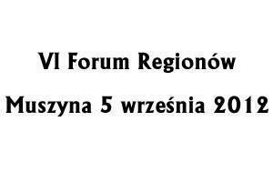 VI Forum Regionów - Muszyna 2012