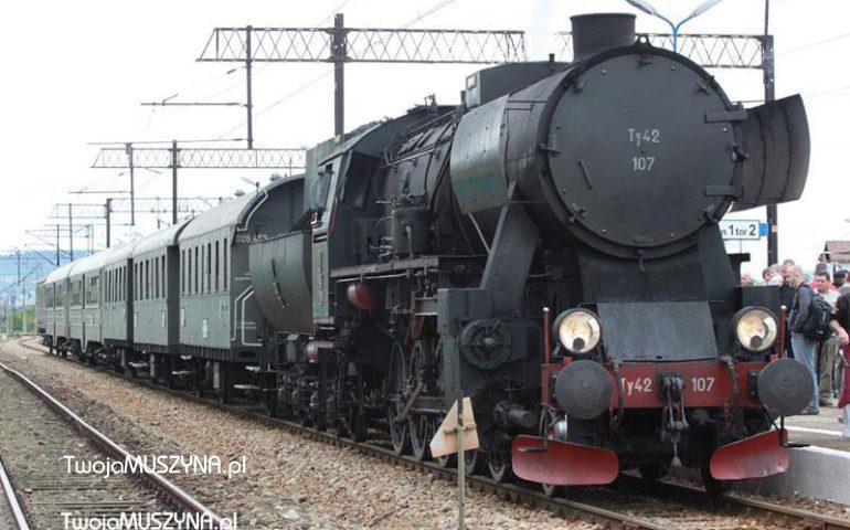 Pociąg retro Krynica - Muszyna