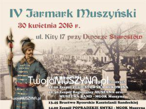 4 Jarmark Muszyński - plakat