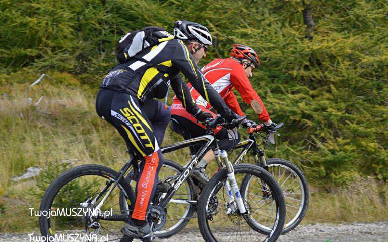 Rowery górskie - wycieczka
