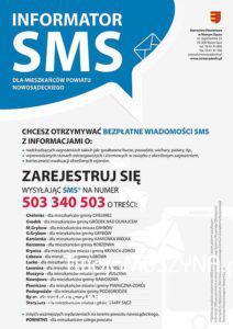 Powiat nowosądeki - informator sms