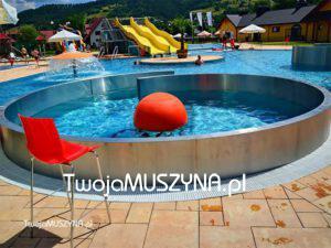 baseny w Muszynie - zdjęcie
