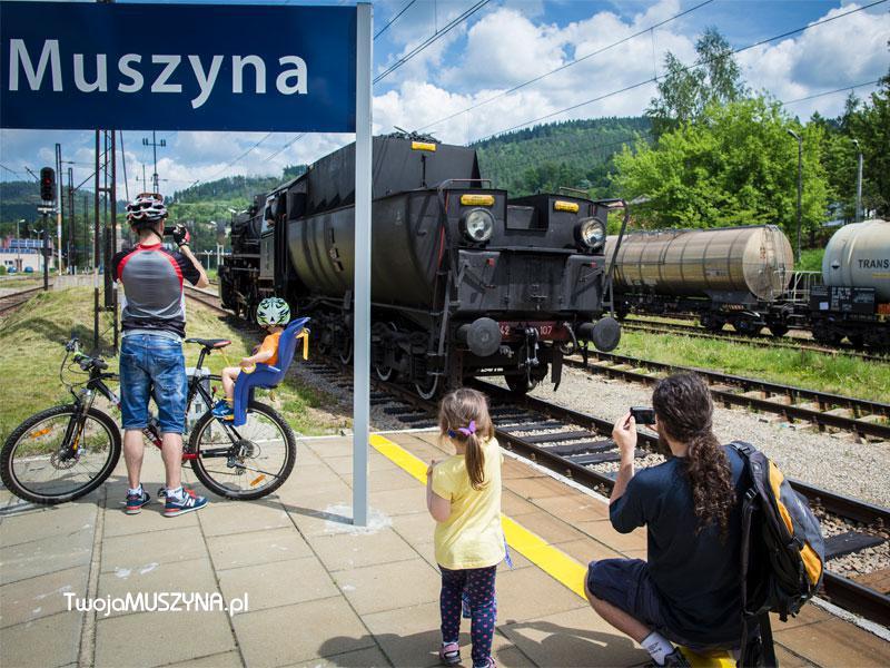 Muszyna - pociąg retro
