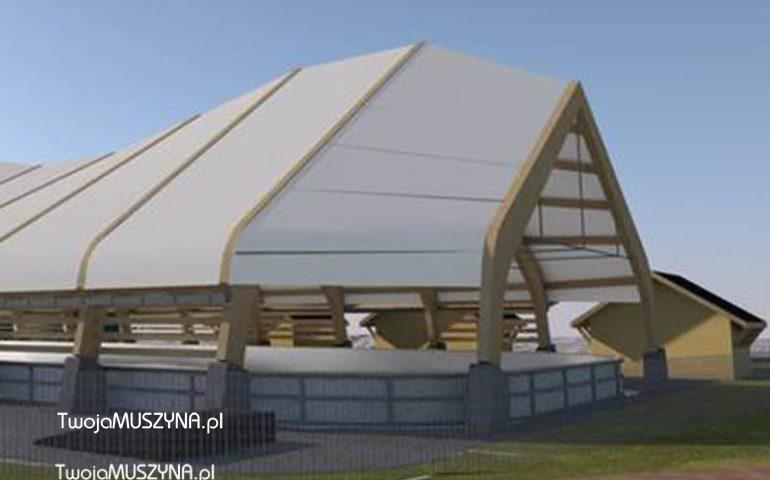 kryte lodowisko w Muszynie - projekt
