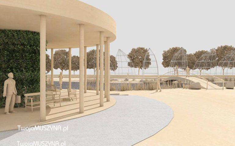Budowa strefy wypoczynkowo – rekreacyjnej w Parku Zapopradzie w Muszynie