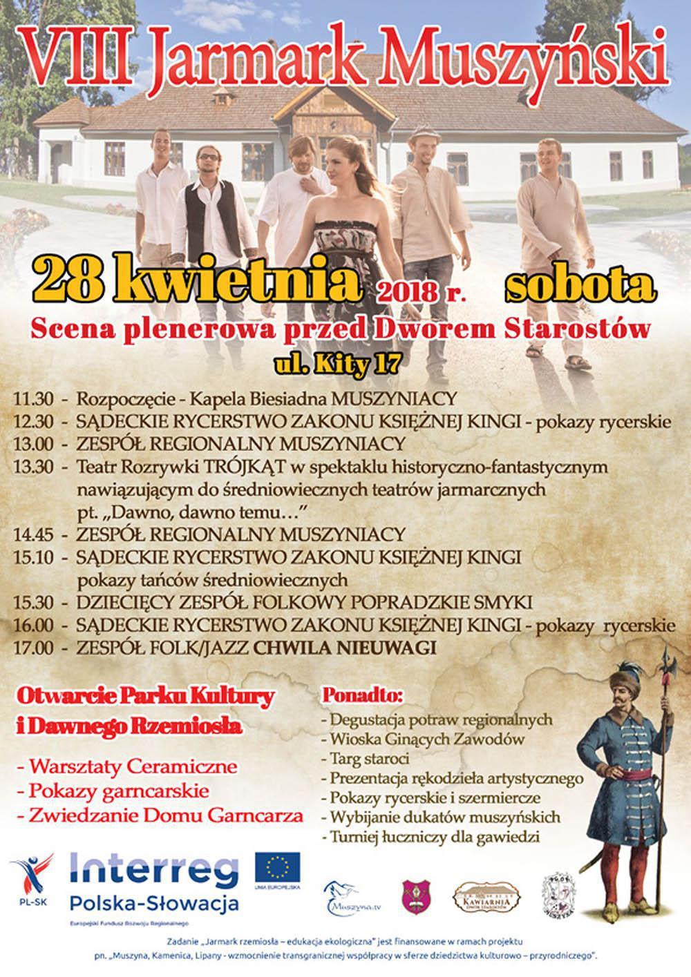 VIII Jarmark Muszyński - plakat