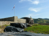 Ruiny zamku na Baszcie