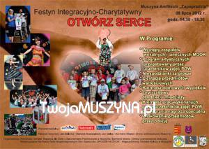 Festyn Integracyjno - Charytatywny Otwórz Serce w Muszynie