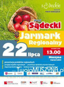 Sądecki Jarmark Regionalny - plakat