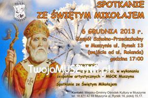 Spotkanie ze św. Mikołajem w Muszynie