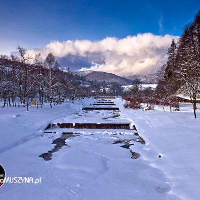 Szczawniczek zimą
