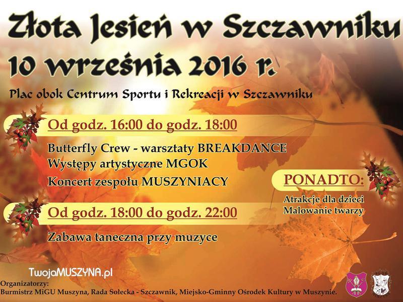 Szczawnik Złota Jesień 2016
