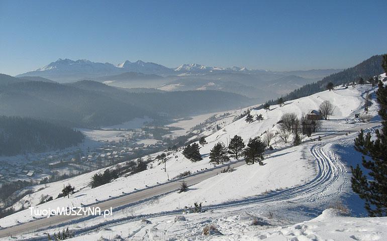 Słowacja zimą