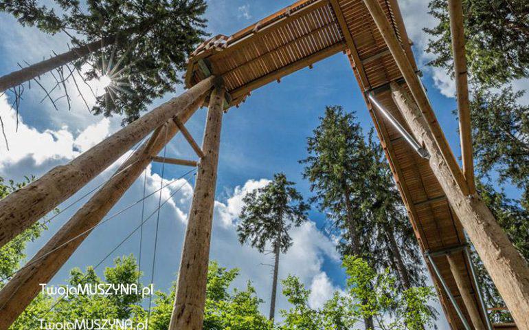 Ścieżka w koronach drzew - Słowacja