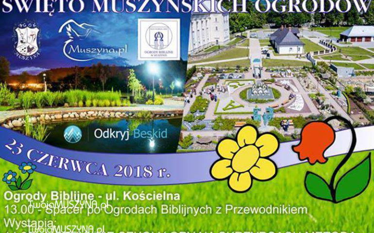 Święto Muszyńskich Ogrodów 2018 - zdjęcie do wstępu