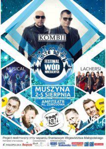 Festiwal Wód Mineralnych sierpień 2018 - plakat zdj01