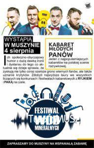 Festiwal Wód Mineralnych sierpień 2018 - plakat zdj03