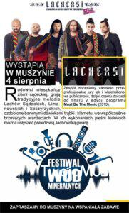 Festiwal Wód Mineralnych sierpień 2018 - plakat zdj05