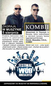 Festiwal Wód Mineralnych sierpień 2018 - plakat zdj06