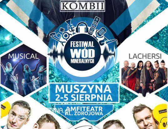 Festiwal Wód Mineralnych Muszyna sierpień 2018
