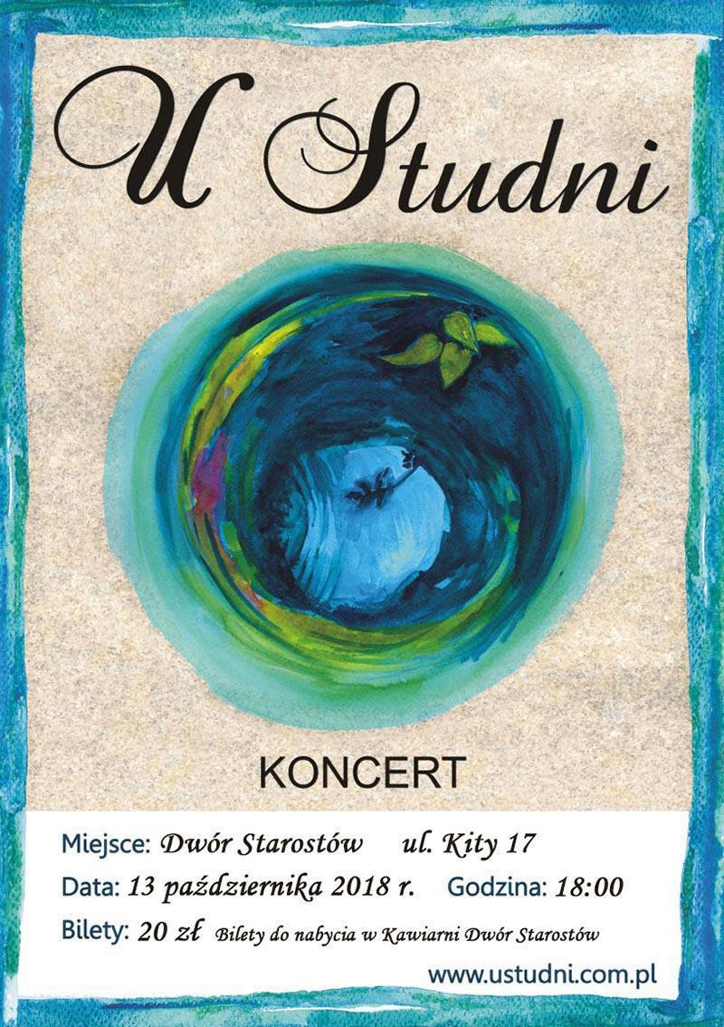 Koncert U Studni - plakat