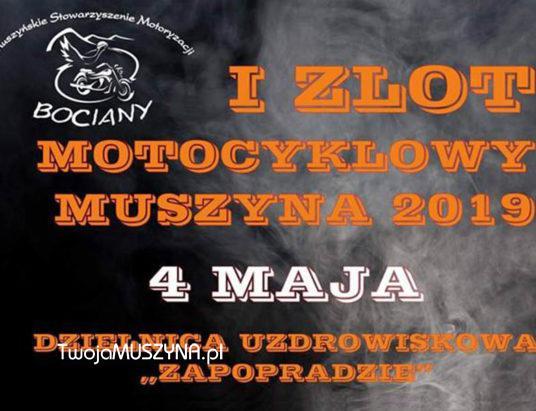 I Zlot Motocyklowy Muszyna 2019 - zdjecie wprowadzające