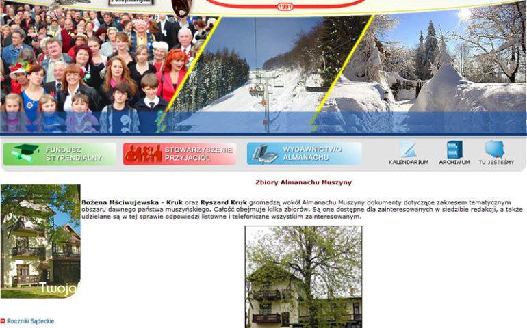 Almanach Musyzny - screen strony