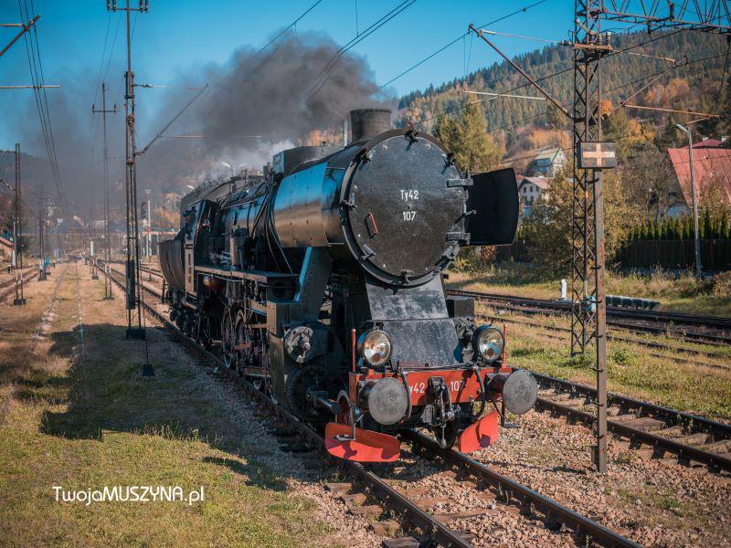 parowozem przez Dolinę Popradu - 25 maja 2019