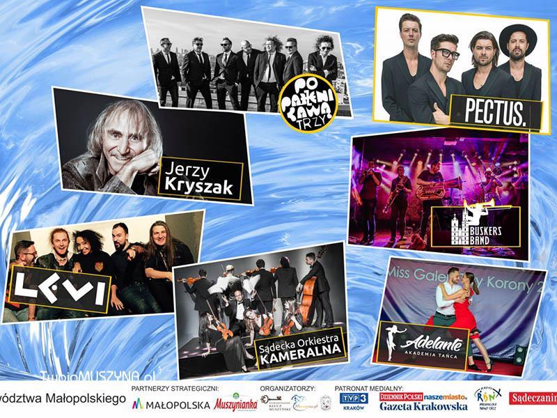 XVII Festiwal Wód Mineralnych w Muszynie - od 1 do 4 sierpnia 2019