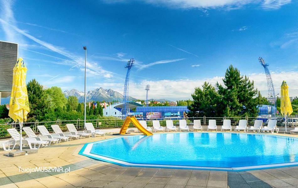 AquaCity Poprad basen na zewnątrz