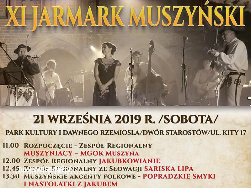 XI Jarmark Muszyński 2019