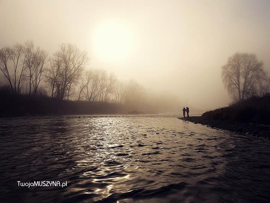 rzeka Poprad w rejonie Andrzejówki