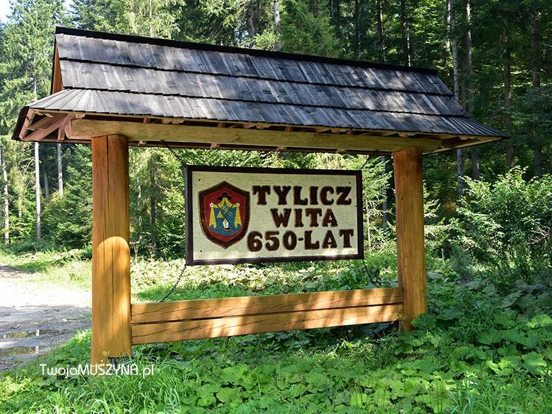 wjazd do Tylicza - zdjęcie