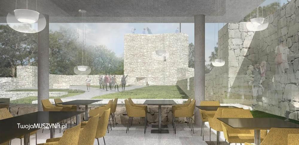 Renowacja i rozbudowa ruin zamku w Muszynie - zdj02