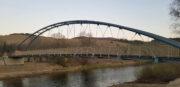 Zdjęcia z postępu prac - kładka rowerowa w Miliku - 21 kwietnia 2020