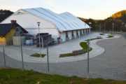 Kryte lodowisko i kort tenisowy na Zapopradziu - 30 września 2018 - zdjęcia
