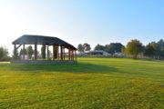 Muszyna - wschód słońca z Ogrodów sensorycznych - galeria zdjęć