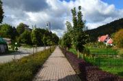 Centrum Rekreacji i Sportu Zapopradzie jesienią